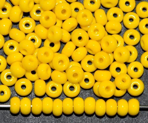 Best.Nr.:01012 Rocailles von Ornella Preciosa Tschechien,  gelb opak
