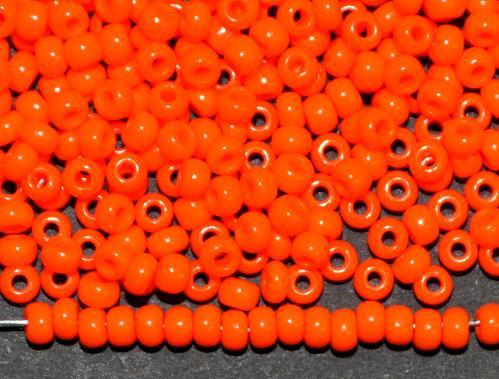 Best.Nr.:01059 Rocailles von Ornella Preciosa Tschechien,  orange opak