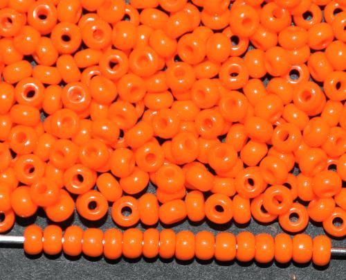 Best.Nr.:01109 Rocailles von Ornella Preciosa Tschechien,  orange opak