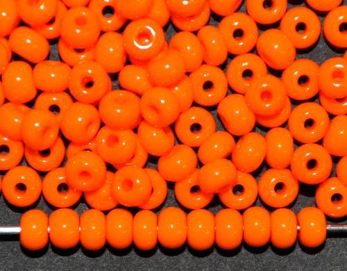Best.Nr.:01113 Rocailles von Ornella Preciosa Tschechien,  orange opak