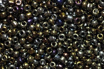 Best.Nr.:07007 Rocailles von Preciosa Ornella Tschechien hergestellt,  metallic