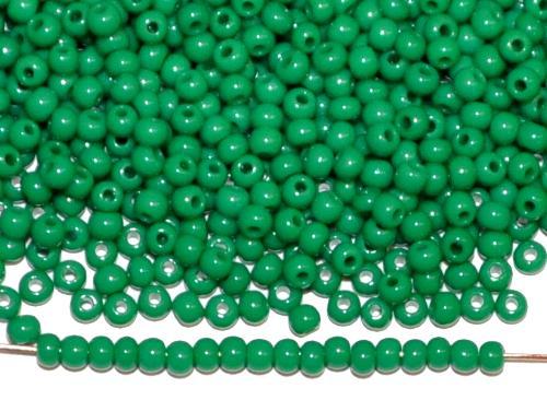 Best.Nr.:01154 Rocailles von Ornella Preciosa Tschechien, grün opak