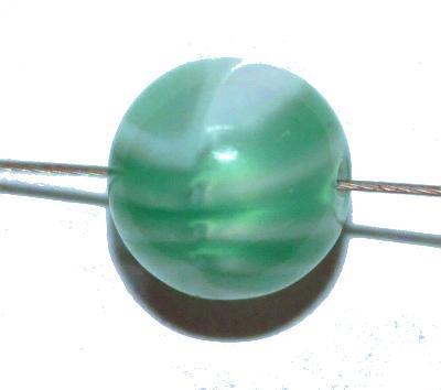 Best.Nr.:63909 Glasperlen rund 1920/30 in Gablonz/Böhmen hergestellt, (nur wenige auf Lager)