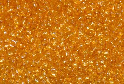 Best.Nr.:09052 Rocailles von Ornella Preciosa Tschechien,  honiggelb /schimmernd (lüster)