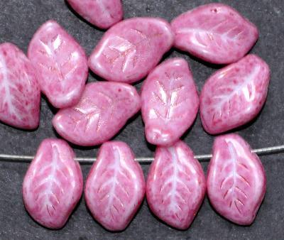 Best.Nr.:50203 Glasperlen Blätter lila