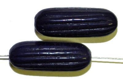 Best.Nr.:63815 Glasperlen in den 1950/60 Jahren in Gablonz/Böhmen hergestellt,  nachtblau opak
