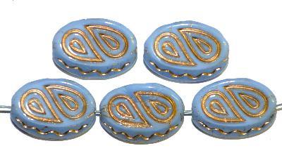 Best.Nr.:59226 Antik style Glasperlen,  nach alten Vorlagen  aus den 1920 Jahren neu gefertigt,  mit gold finish