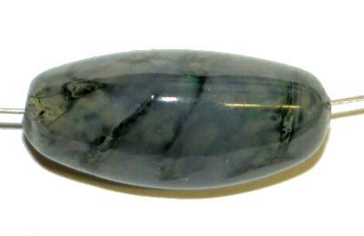 Best.Nr.:63857 Wickelglasperle,  in den 1930/1940 Jahren in Gablonz/Böhmen von Hand gefertig,  (nur wenige auf Lager)
