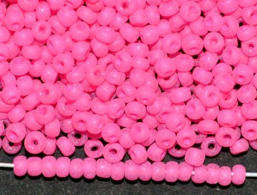 Best.Nr.:04011/100  Rocailles von Ornella Preciosa Tschechien,  pink dyed alabaster