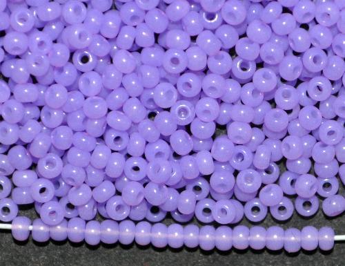 Best.Nr.:04022  Rocailles von Ornella Preciosa Tschechien,  violett Opalglas
