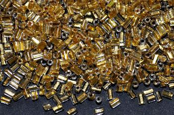 Best.Nr.:63714 Glasperlen in den 1920/30 Jahren in Gablonz/Böhmen hergestellt mit Goldeinzug