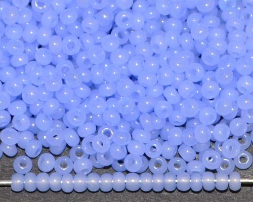 Best.Nr.:05027 Rocailles von Ornella Preciosa Tschechien, alabaster hellblau