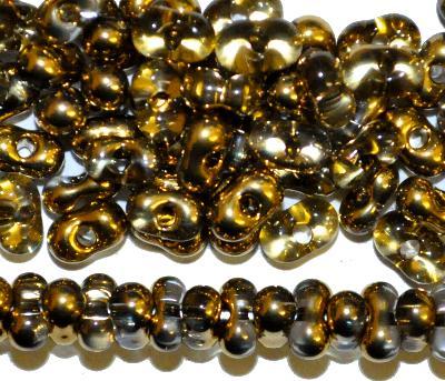 Best.Nr.:00855 Farfalle Rocailles von Preciosa Tschechien, kristall metallic