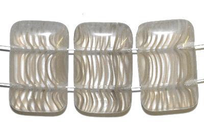 Best.Nr.:49208 Glasperlen silk kristall mit zwei Löchern,hergestellt in Gablonz / Tschechien