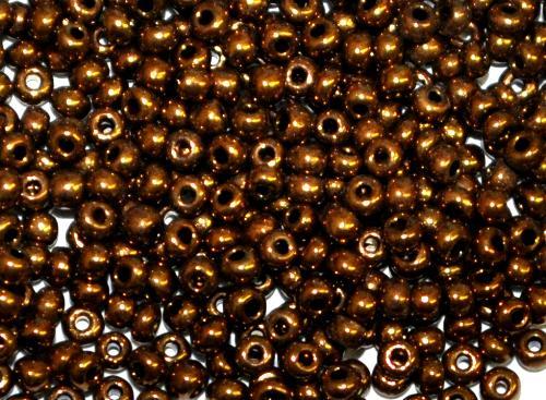 Best.Nr.:07024  Rocailles von Ornella Preciosa Tschechien,  metallic bronze