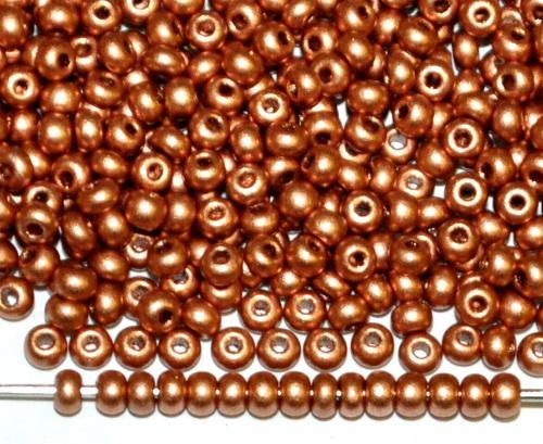 Best.Nr.:07026 Rocailles von Ornella Preciosa Tschechien, messingfarben leicht mattiert