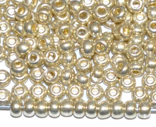 Best.Nr.:07035 Rocailles von Ornella Preciosa Tschechien, silberfarben