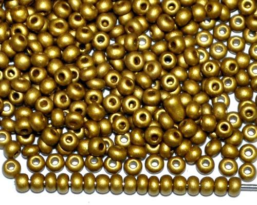 Best.Nr.:07038 Rocailles von Ornella Preciosa Tschechien, messingfarben