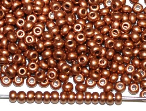 Best.Nr.:07040 Rocailles von Ornella Preciosa Tschechien, metallic matt