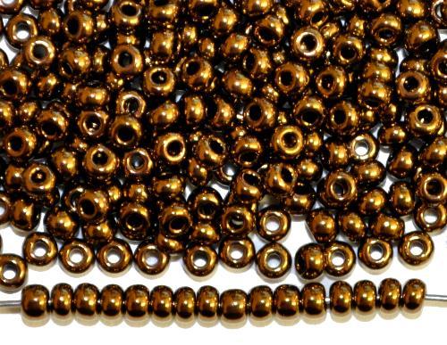 Best.Nr.:07051 Rocailles von Ornella Preciosa Tschechien,  metallic bronze