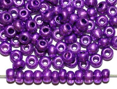 Best.Nr.:07002 Rocailles von Ornella Preciosa Tschechien,  violett metallic