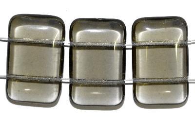 Best.Nr.:79017 Glasperlen mit zwei Löchern,  blackdiamond,  hergestellt in Gablonz / Tschechien