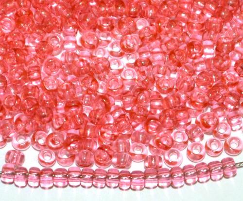 Best.Nr.:08074 Rocailles von Ornella Preciosa Tschechien, strawberryred transp.