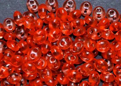 Best.Nr.:78043 Twin Beads von Ornella Preciosa Tschechien orange transp.