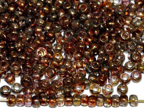 Best.Nr.:09012 Rocailles von Preciosa Ornella Tschechien hergestellt,  bronziert