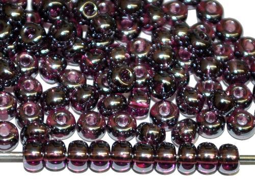 Best.Nr.:09055 Rocailles von Ornella Preciosa Tschechien  violett transp. /schimmernd (lüster)