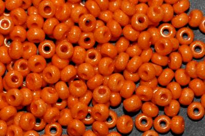 Best.Nr.:01046 Rocailles von Ornella Preciosa Tschechien, orange