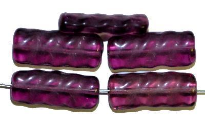 Best.Nr.:49200 Glasperlen in Gablonz/Böhmen hergestellt,  violett transp.