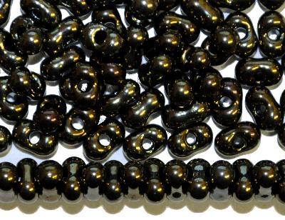 Best.Nr.:00850 Farfalle Rocailles von Preciosa Tschechien, metallic