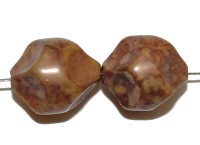 Best.Nr.:63682 Glasperlen Nuggets 1920/30 in Gablonz/Böhmen hergestellt, (nur wenige auf Lager)