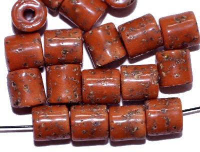 Best.Nr.:63796 Glasperlen ( tilt-beads ) in den 1920/30 Jahren in Gablonz/Böhmen hergestellt, (Prosserbeads)