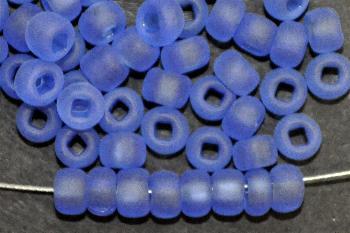 Best.Nr.:14057/100 Rocailles von Ornella Preciosa Tschechien aqua mattiert (frostet)
