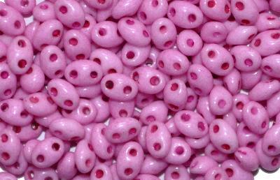 Best.Nr.:78061 Twin Beads von Ornella Preciosa Tschechien, lila