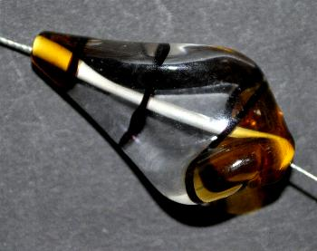Best.Nr.:45097 hochwertige Lampenperle handgefertigt in einer kleinen Manufaktur in Gablonz /Böhmen