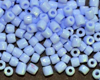 Best.Nr.:18017 3-Cutbeads von Ornella Preciosa Tschechien hellblau opak