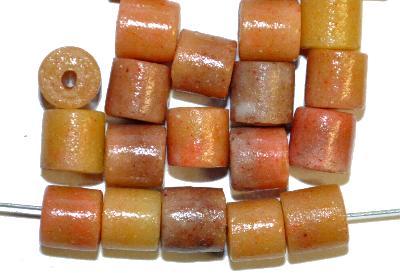 Best.Nr.:63865 Glasperlen ( tilt-beads )  in den 1920/30 Jahren in Gablonz/Böhmen  hergestellt, (Prosserbeads)