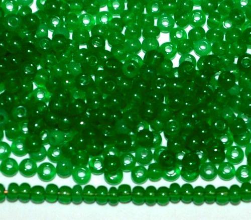 Best.Nr.:15045 Rocailles von Ornella Preciosa Tschechien  greasy green