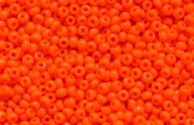 Best.Nr.:15058 Rocailles von Ornella Preciosa Tschechien,  orange opak