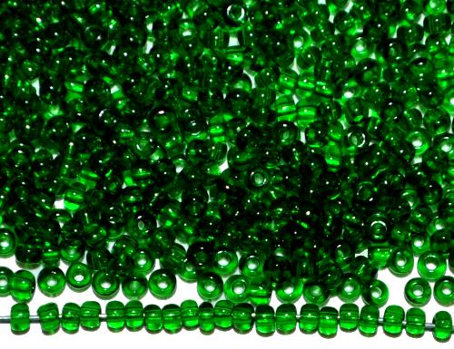 Best.Nr.:15059  Rocailles von Ornella Preciosa Tschechien  grün transparent