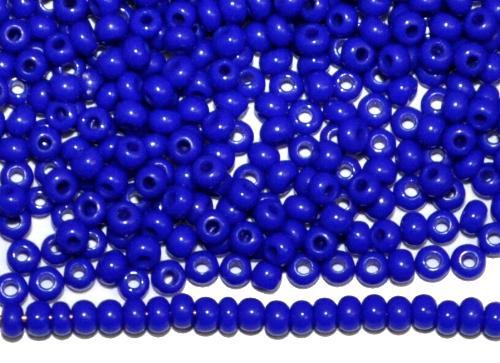Best.Nr.:15067/100  Rocailles von Ornella Preciosa Tschechien  dunkelblau opak
