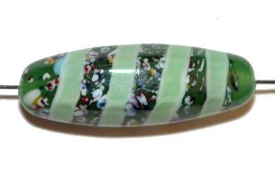 Best.Nr.:45055 Wickelglasperle, in den 1930/1940 Jahren in Gablonz/Böhmen von Hand gefertig