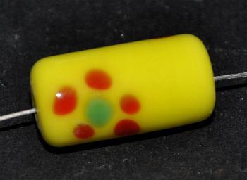 Best.Nr.:45225 Glasperlen / Lampenperle, handgefertigt in einer kleinen Manufaktur bei Gablonz /Böhmen