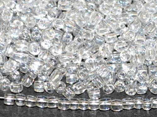 Best.Nr.:18018  3-Cutbeads von Ornella Preciosa Tschechien  kristall mit lüster