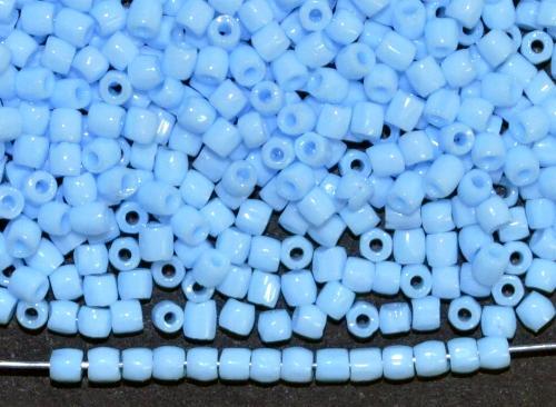 Best.Nr.:18046  3-Cutbeads von Ornella Preciosa Tschechien  hellblau opak