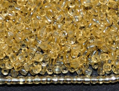 Best.Nr.:18048 3-Cutbeads von Ornella Preciosa Tschechien  light topas transp.