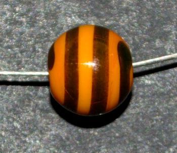 Best.Nr.:45159 handgefertigte Lampenperle aus den Böhmischen Glashütten